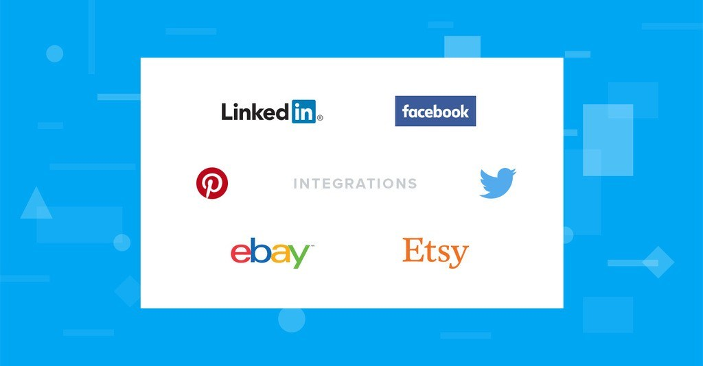 最新模板整合:eBay、Etsy、LinkedIn、Twitter、Pinterest、Facebook 活动